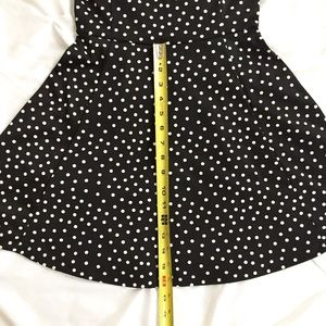 Divided Dresses - SOLD!  Divided H&M B+W Polkadot Dress! 🖤